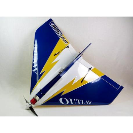 """E-OUTLAW 36"""" V2 ARF bleu """"Speed Freak"""""""