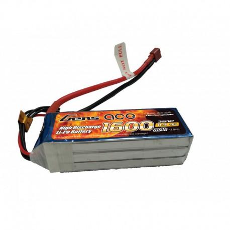 Accu LiPo GENS ACE 1600mAh 3S 40C