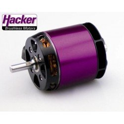 Moteur brushless Hacker A50-16S V4 14 Poles 365Kv 345grs