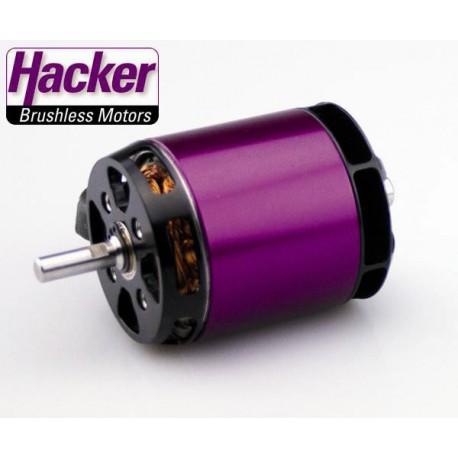 Moteur brushless Hacker A50-12L V3 14 Poles 355Kv 445grs