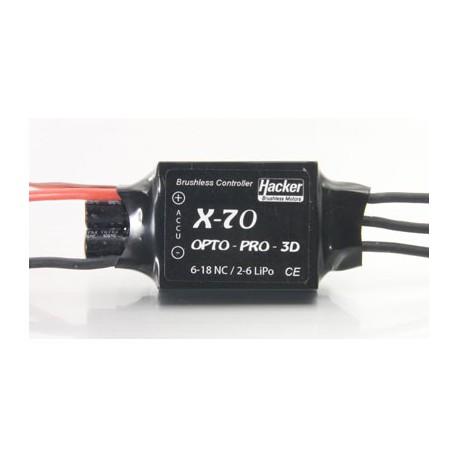 CONTROLEUR HACKER X-70-OPTO-PRO 3D