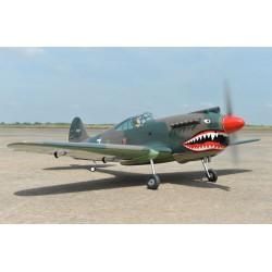 P-40C TOMAHAWK 60cc 2.27m ARF BLACK HORSE