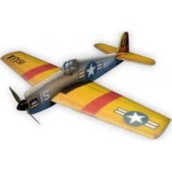 F6F-5 HELLCAT 84CM ARF JAUNE HACKER MODEL