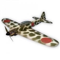 MITSUBISHI A6M2 ZERO CAMOUFLAGE 84CM ARF HACKER MODEL