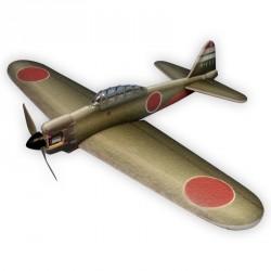 MITSUBISHI A6M2 ZERO KAKI 84CM ARF HACKER MODEL