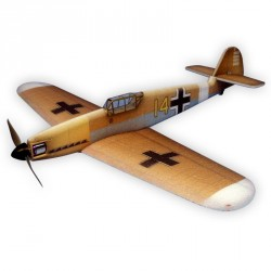MESSERSCHMITT BF 109F 84CM ARF BRUN HACKER MODEL