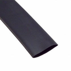 Gaine thermorétractable 33mm noir 1M