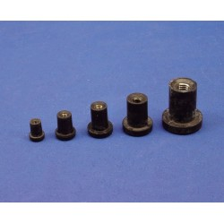 Silent bloc M4-10mm (4pcs)