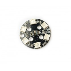 PASTILLE PLATE LEDS RGB 10-13V DC MATEK