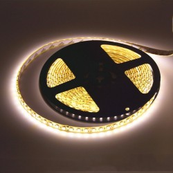 RUBAN LED ECO JAUNE HAUTE DENSITE 5M/60LED