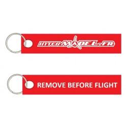 PORTE CLES REMOVE BEFORE FLIGHT INTERMODEL