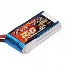 Accu LiPo GENS ACE 160mAh 2S 30C