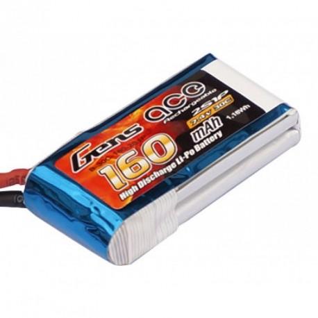 Accu LiPo GENS ACE 120mAh 2S 30C