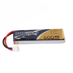 Accu LiPo TATTU 600mAh 1S 30C avec connecteur JST BEC
