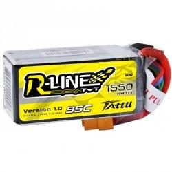 Accu LiPo Tattu R-Line 1300mAh 4S 95C