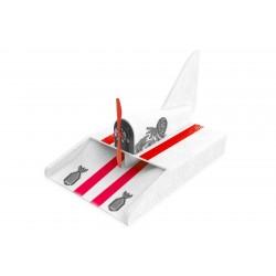 Aeroglisseur Chti Cat Racer PNP avec LED (blanc)