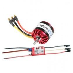 MOTEUR OBL C2830/15 750KV 210W+VARIATEUR RAY 18A BEC