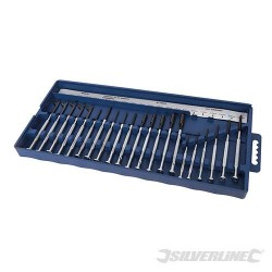 COFFRET DE 22 TOURNEVIS DE PRECISION SILVERLINE