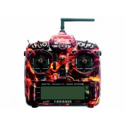 Radio Taranis PLUS 16 voies SPECIAL EDITION (Blazing Skull) FrSky
