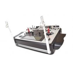 Radio Taranis-E 16 avec suspente alu CNC voies en mallette