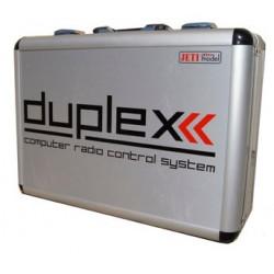 VALISE EN ALUMINIUM POUR RADIO DC Tx DUPLEX 2.4EX JETI