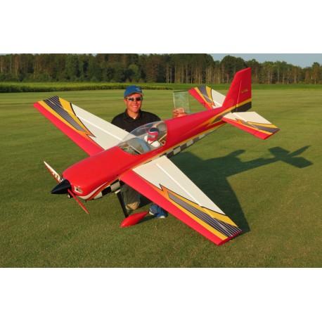 "SLICK 580 105.5"" ARF ROUGE/IMPRIME EXTREME FLIGHT"