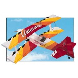 ULTIMATE BIPLAN 1092MM GREAT PLANES kit à construire