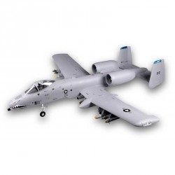 JET TWIN A-10 EDF 70MM GRIS KIT PNP FMS