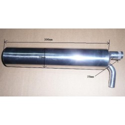 CANISTER SUPER SILENCE 80-90CC