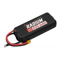 Accu LiPo RADIUM 650mAh 3S 30C