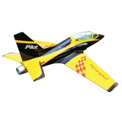 "VIPERJET + trains rentrants PILOT-RC 87"" (03)"