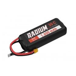 Accu LiPo RADIUM 1600mAh 3S 30C
