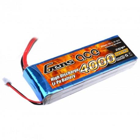 Accu LiPo GENS ACE 4000mAh 2S 25C
