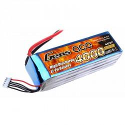 Accu LiPo GENS ACE 4000mAh 4S 25C