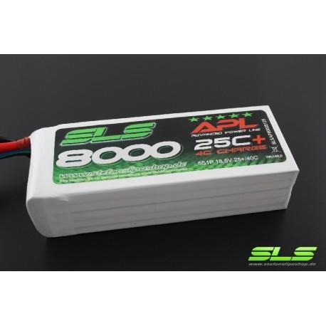 ACCU LIPO SLS APL 8000mAh 6S 25C