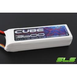 ACCU LIPO SLS X-CUBE 3600MAH 4S 30C