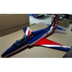 "SUPER GALEB G-4 ARF 1751MM ""ROUGE / BLEU"" TOP RC MODEL"