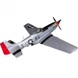 """P-51D MUSTANG """"OLD CROW"""" 2260MM ARF TOP RC MODEL"""