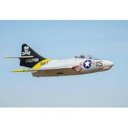 """F9F COUGAR """"GRIS"""" 1562MM ARF TOP RC MODEL"""