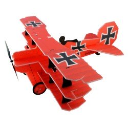 TRIPLAN LIL FOKKER RED BARON 680MM RC FACTORY