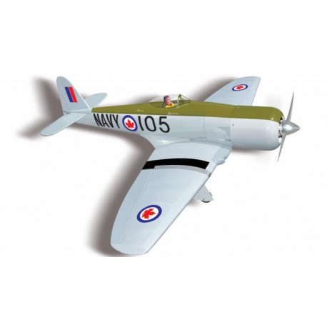 SEA FURY 90/120 ARF 1675MM SEAGULL MODEL