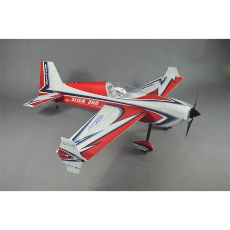 "SKYWING 55"" SLICK 360 ARF PP 1397MM ROUGE"