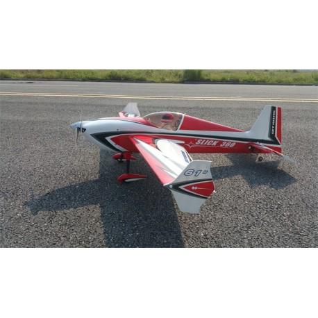 "SKYWING 61"" SLICK 360 ARF PP 1549MM ROUGE PRINTING"