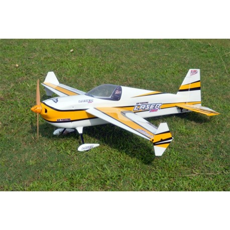 "SKYWING 60"" LASER 260 ARF 1524MM JAUNE COVERING"