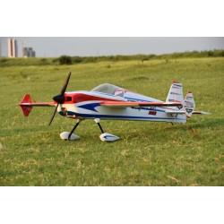 """SKYWING 89"""" LASER 260 ARF 2260MM ROUGE/BLEU PRINTING"""