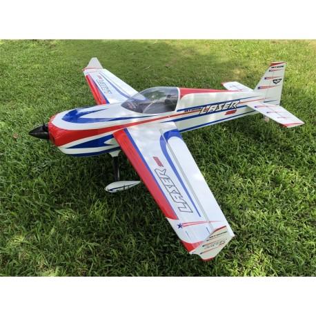 """SKYWING 101"""" LASER 260 ARF 2565MM ROUGE/BLEU PRINTING"""