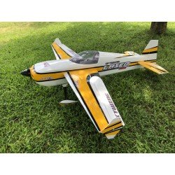 "SKYWING 101"" LASER 260 ARF 2565MM JAUNE/NOIR COVERING"
