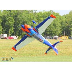 "EXTRA 300 104"" V2 ARF EXTREME FLIGHT ORANGE/BLEU"