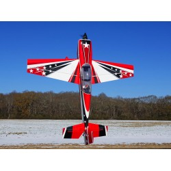 "EXTRA 300 104"" V2 ARF EXTREME FLIGHT ROUGE/BLANC"
