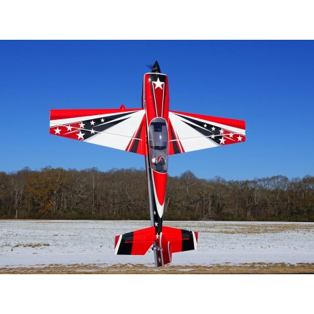 """EXTRA 300 104"""" V2 ARF EXTREME FLIGHT ROUGE/BLANC"""